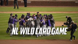 MLB | 2018 NL Wild Card Game Highlights (COL vs CHC)