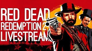 Red Dead Redemption 2 Live! 🐴Outside Xbox Plays Red Dead Redemption 2 (Chapter 2 Spoilers Only)