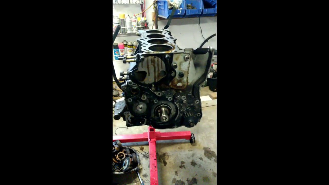 4g63 Balance Shaft Removal (Without Removal `Kit`)