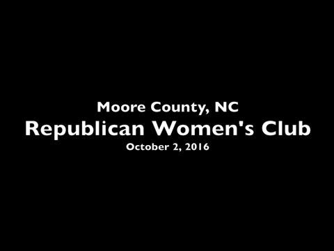 Moore Repub. Women's Club, Oct 2, 2016