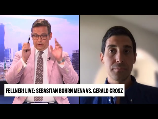 Der Missbrauch von Naturkatastrophen durch die Klimakommunisten - Gerald Grosz in Fellner Live