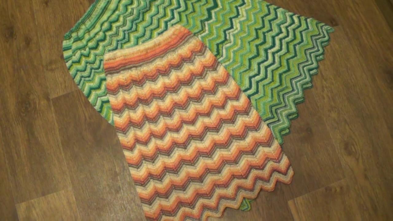Ютуб вязание спицами юбку