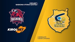 KIROLBET Baskonia Vitoria-Gasteiz - Herbalife Gran Canaria Highlights | EuroLeague RS Round 18