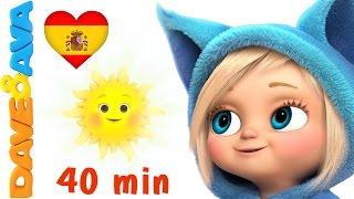 Baixar 🌦️Сanciones Infantiles   Canciones Para Bebés en Espanol de Dave y Ava   Lluvia, Lluvia, Vete Ya 🌦️
