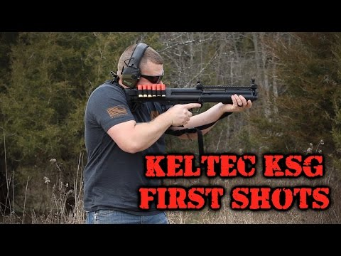 KelTec KSG First Shots