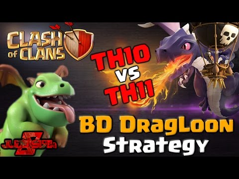 BD DragLoon Attack Strategy – TH10 vs TH11 | Clash of Clans