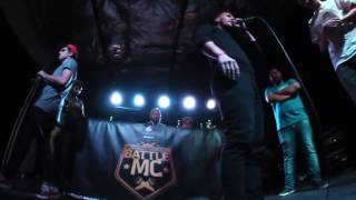 BattleMC Romania NELI & GORO vs OCD & DEX (Semifinala 2vs2)