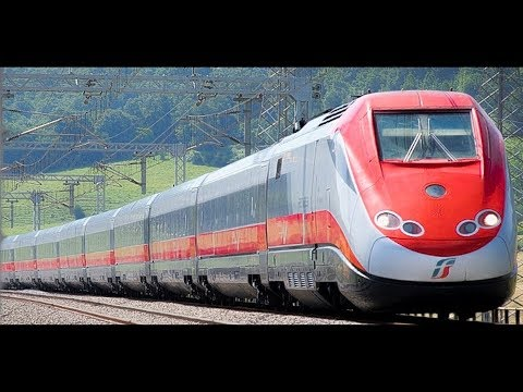 FAST TRAINS IN ITALY ►►► 300 km/h (186 mph)