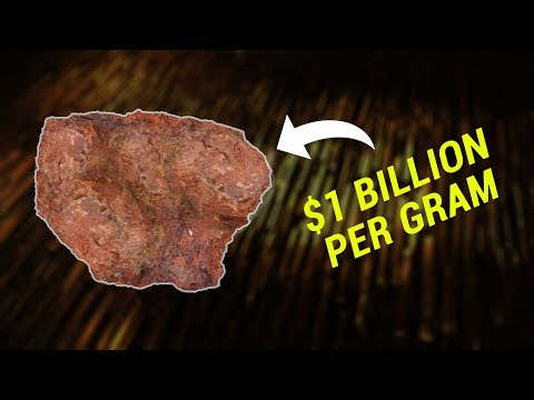 The most expensive element on Earth: $1 billion per gram!