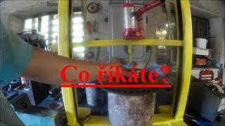Výroba hydraulického dílenského lisu