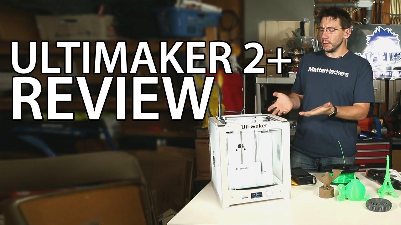 video Ultimaker 2 Plus 3D Printer