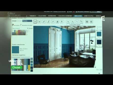 agnes peignen les couleurs la maison france 5 youtube. Black Bedroom Furniture Sets. Home Design Ideas