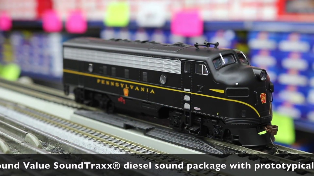 Bachmann Ho F7-a Diesel Locomotive With Dcc And Sound