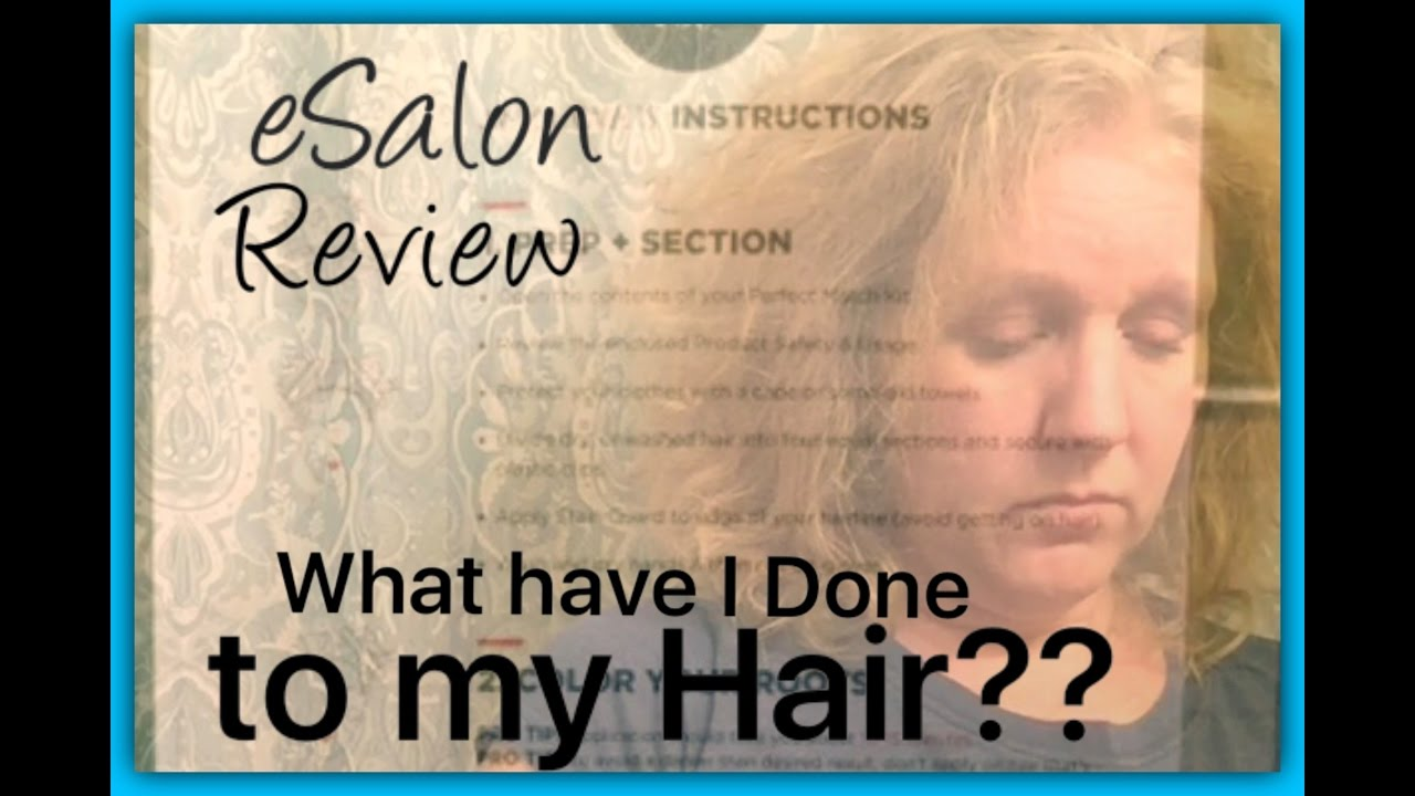 Esalon hair color review november 2016 youtube for E salon hair color reviews