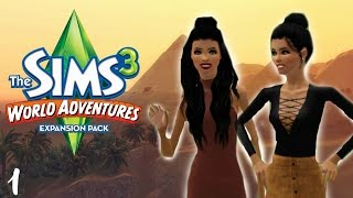 Let's Play: The Sims 3 World Adventures | Part 1 - Traveling to Egypt