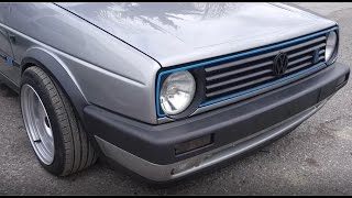 Golf 2 VR6 Syncro START and SOUND