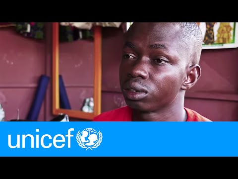 Stopping election violence through radio waves in Cote d'Ivoire | UNICEF