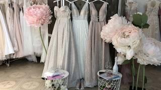 Блестящее платья 2019