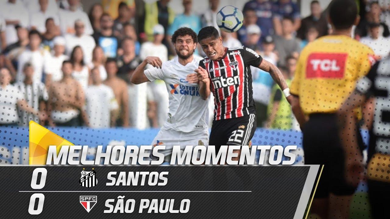 Santos 0 X 0 S U00e3o Paulo