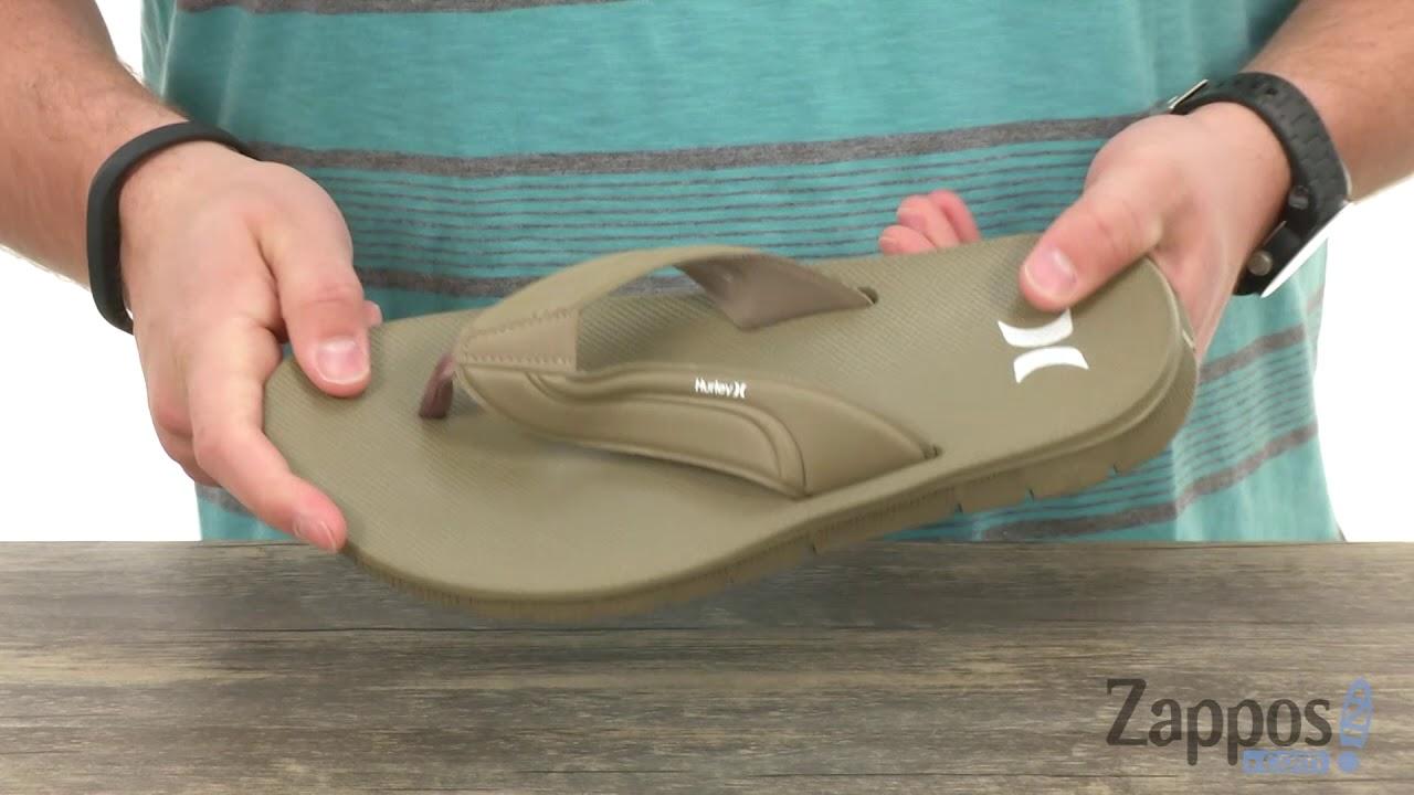New Black Hurley Fusion 2.0 Sandal