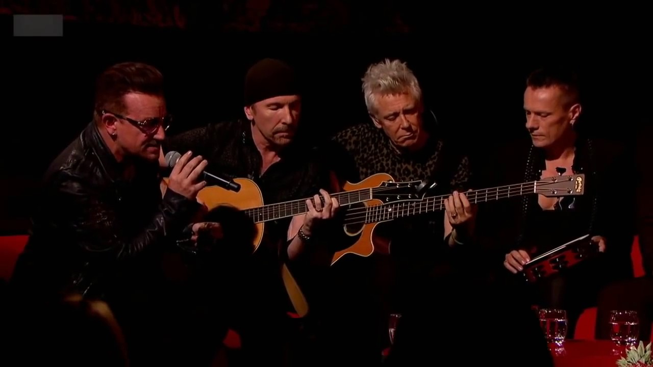 U2 Song For Someone Acoustic Live On Graham Norton
