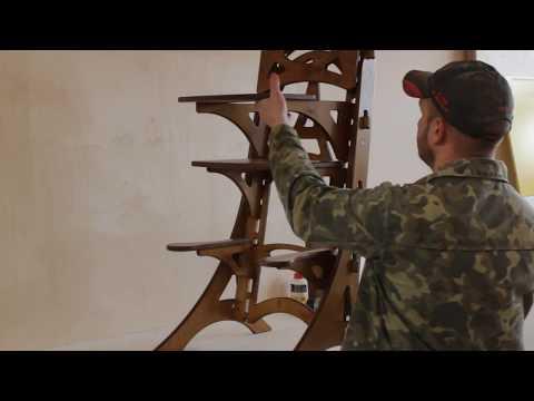 Сборка растущего стула Башня. Чудоконторка