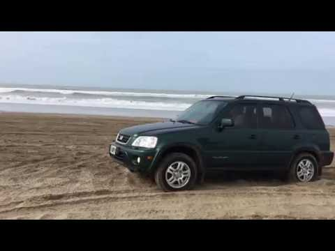 2000 Honda CRV in the Sand