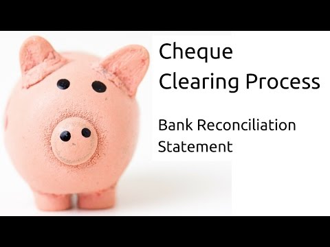 What is Clearing Process | Bank Reconciliation Statement(BRS)| CA CPT | CS & CMA Foundation| Class11