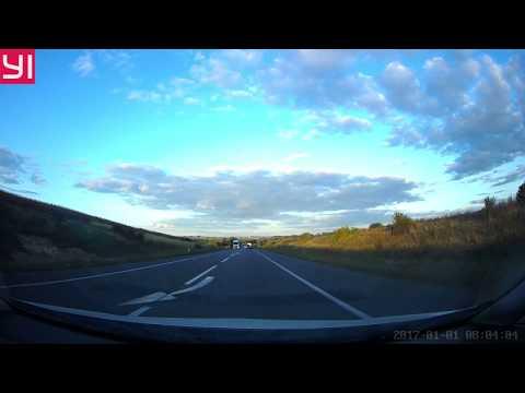 Видео снято на видеорегистратор XIAOMI Yi Ultra Dash Camera 2.7K