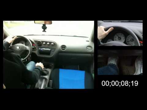 Engine Braking - Stopping a Car Without Using Brakes (Manual Transmission).