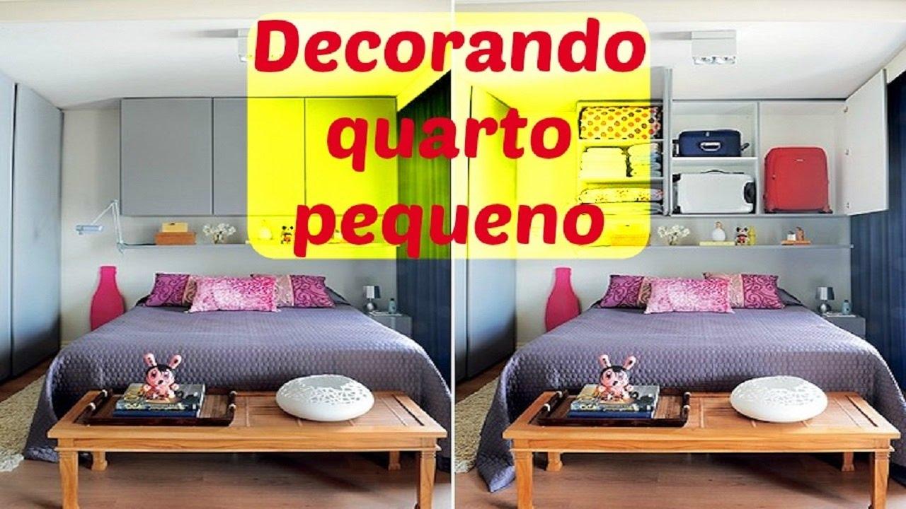 Ideias para decorar quarto pequeno Dicas criativas e econ u00f4micas YouTube -> Ideias Para Decorar Hamburgueria