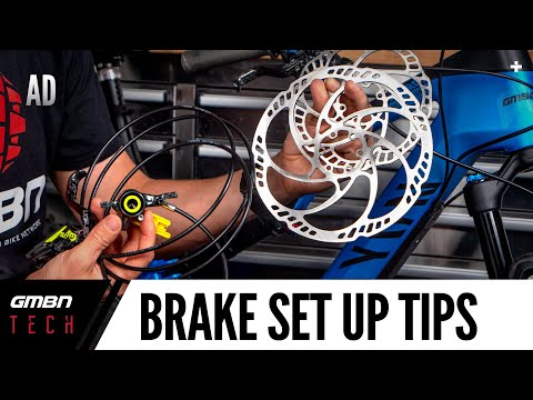 How To Get The Best From Your Brakes | Mountain Bike Disc Brake Set Up Tips