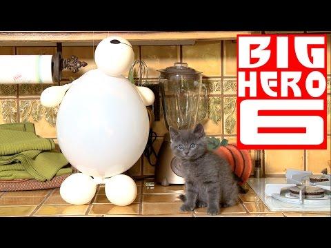 Disney's Big Hero 6 - Baymax (Cute Kitten Version)
