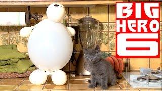 Repeat youtube video Disney's Big Hero 6 - Baymax (Cute Kitten Version)