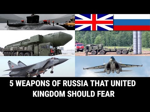 5 WEAPONS OF RUSSIA THAT UNITED KINGDOM SHOULD FEAR