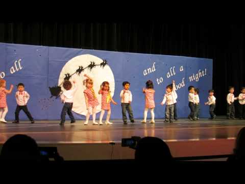 Cedar Crest Academy Winter Performance - Preschoolers 2013
