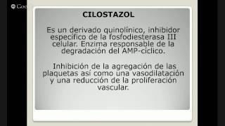 TICAGRELOR, PREASUGREL, CILOSTAZOL