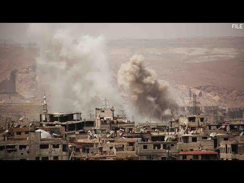 US-led airstrike kills at least 35 in eastern Syria