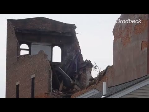 Woman Rescued After Buildings Collapse In Poughkeepsie
