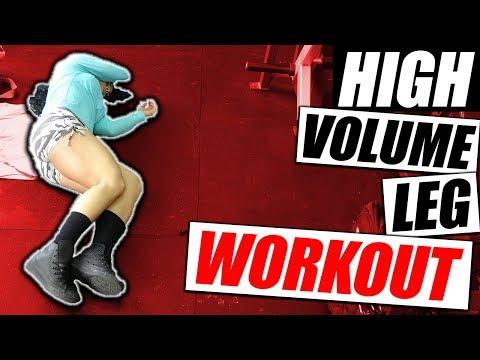 Leg Workout 🏋 For Maximum Growth