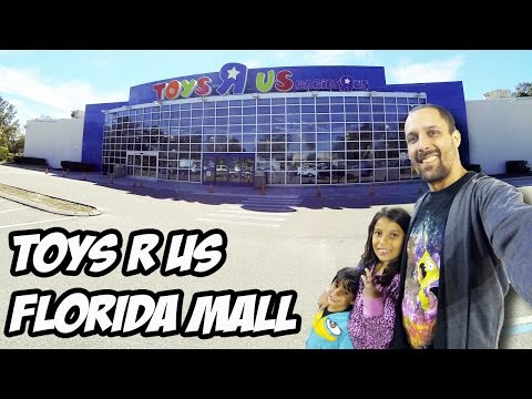 Com as crianças na Toys R Us do Florida Mall - Preços 2016