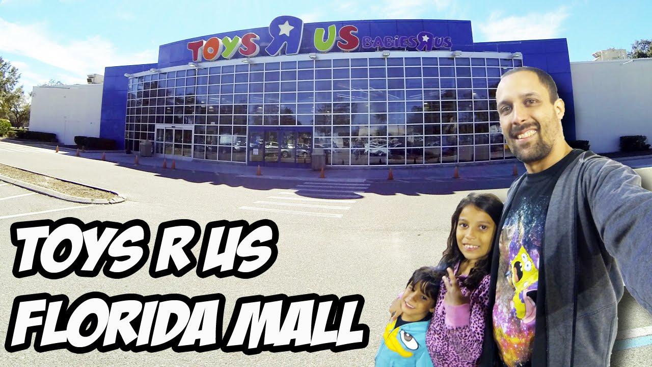 Com as crianças na Toys R Us do Florida Mall - Preços 2016 - Orlando - YouTube