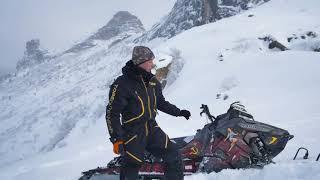 Обучение Управления горным снегоходом 1 от Романа.