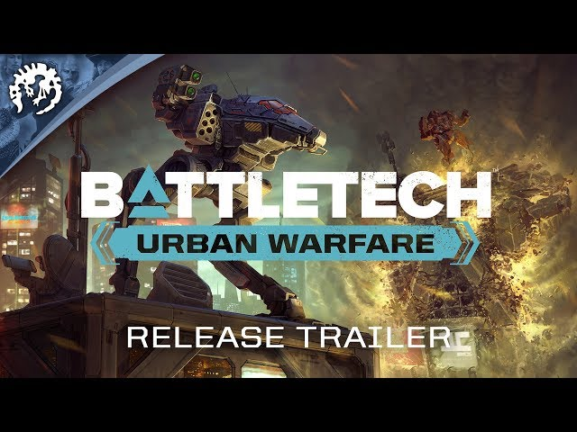 BATTLETECH: Urban Warfare | Release Trailer