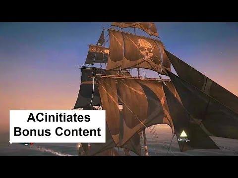 AC Initiates bonus content: Shanty The Maid of Amsterdam, Black Skull Sails, Splitblood Sails