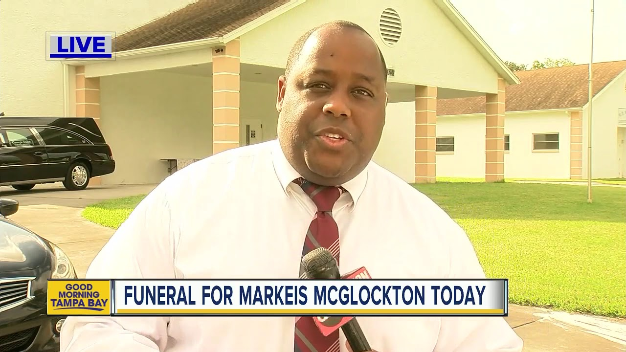 Family Friends And Community Say Final Goodbyes To Markeis Mcglockton