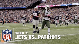 Ryan Fitzpatrick Finds Chris Ivory for a TD to Tie the Patriots! | Jets vs. Patriots | NFL