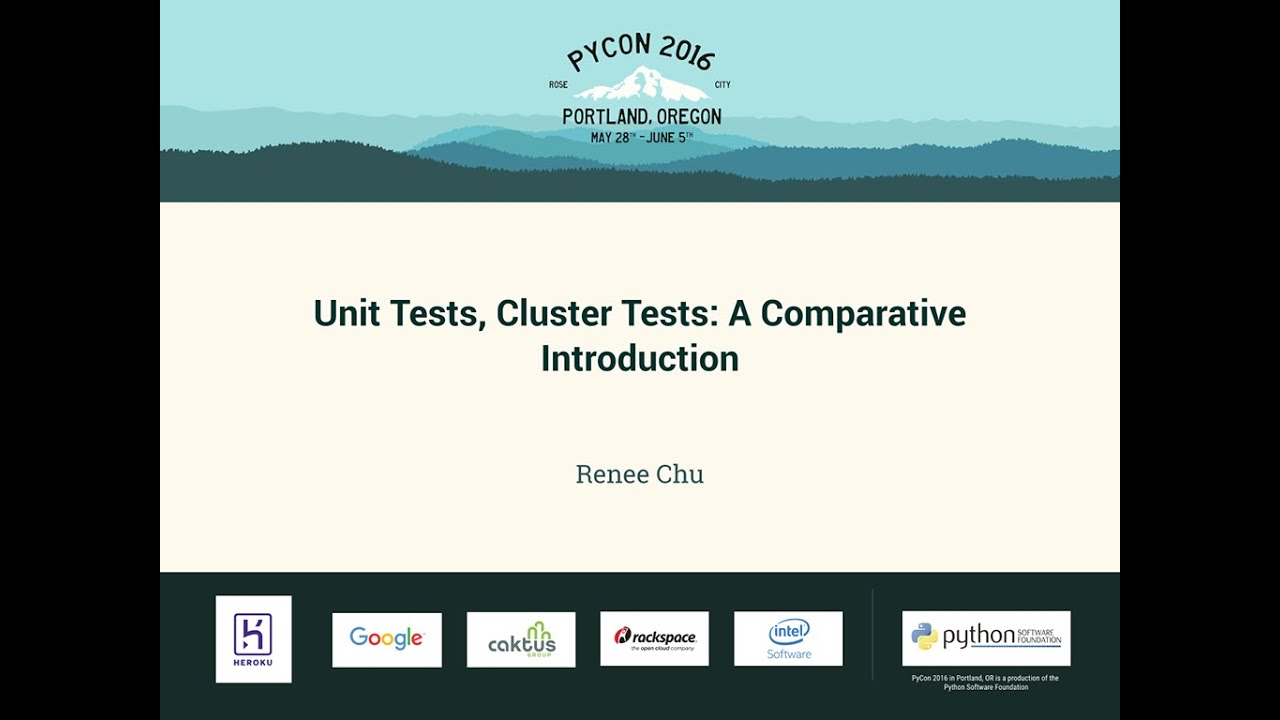 Image from Unit Tests, Cluster Tests: A Comparative Introduction