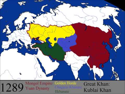 The Rise and Fall of the Mongol Empire