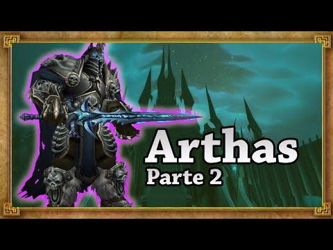 ARTHAS (Lich King) (Parte 2/2) - Um Vilão De WoW [Lore]